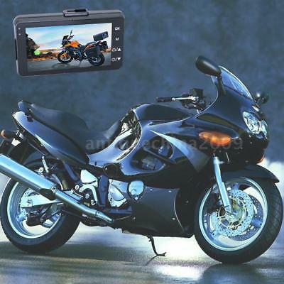 HD Motorcycle Driving Recorder Locomotive Cycling Camera  Front Rear View H6S5