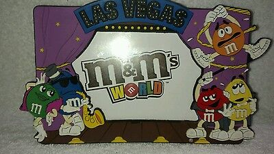 M&M's World  Las Vegas Picture Frame