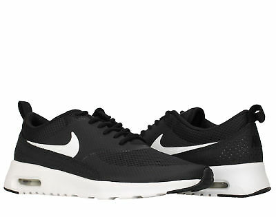 Womens Nike Air Max Thea Running Shoes Sz 9 Black White 599409 020