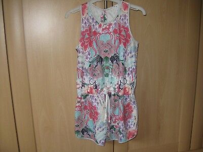 Girls Short Suit / Playsuit Age 9 Miss Grant So Twee Designer Great Condition