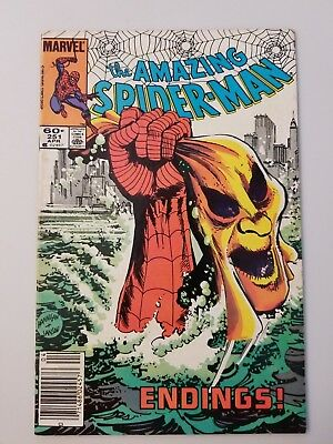Amazing Spider-Man #251 - NO RESERVE - SEE PHOTOS - HOBGOBLIN APPEARANCE
