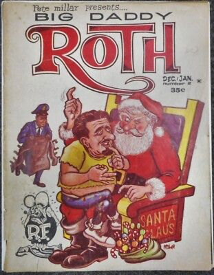 Pete Miller Big daddy Roth Magazine from Dec Jan #2 1964
