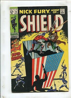 Nick Fury, Agent Of Shield #13 - The Super-Patriot! - (6.0) 1969