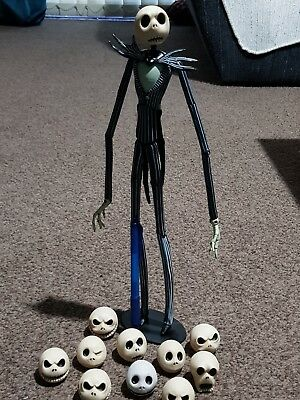 Nightmare Before Christmas Figures Lot Boxed & Unboxed
