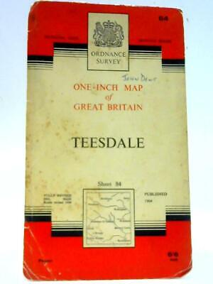 Ordnance Survey One Inch Sheet 84 Teesdale Seventh Seri (Anon - 1964) (ID:85566)