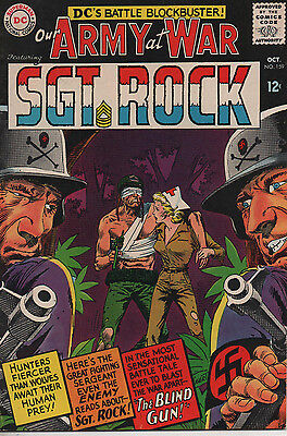 Our Army at War 159 Oct 1965 DC Silver age incredible 8.5 copy Kubert art