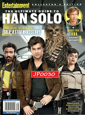 Entertainment Weekly Collector's Edition 2018, Han Solo, Brand New/Sealed