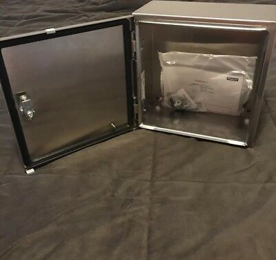 Hoffman 12x12x6″ Stainless Steel Enclosure CSD12126SS6 - NEW