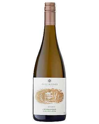 Deep Woods Reserve Chardonnay case of 6 Dry White Wine 750mL Margaret River