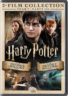 Harry Potter And The Deathly Hallows, Part 1 And 2 [New DVD] 2 Pack, Eco Amara
