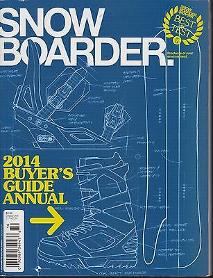 SNOWBOARDER 2014 ANNUAL BUYERS GUIDE - Special Edition Snowboarding