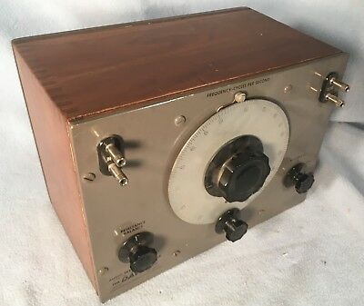 Daven Audio Frequency Meter Model 39A - Vintage Test Gear