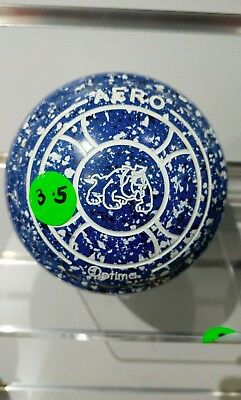Second-Hand Aero Optima Lawn Bowls, Size 3.5, **Great Second-Hand Set!**