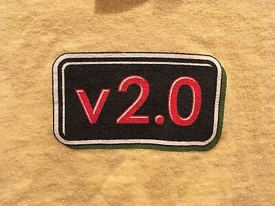 """v2.0"" Baby/Toddler T-shirt 18mo Yellow - Great Gift Software Industry Parents!"