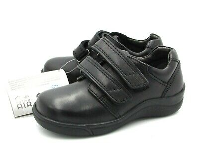 Girls SCHOOL SHOES CLARKS  PRESTIGE sz 8 / 8.5 /  9 age 5 -6 y.o Black LEATHER