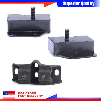 Anchor New Set 3 Engine Motor /& Trans Mount For Ford Fairlane Ranchero Mustang