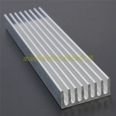 Aluminum Heat Sink Cooling LED Power IC Transistor 100x25x10mm For Computer AU