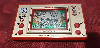 Nintendo Game And Watch Mickey Mouse