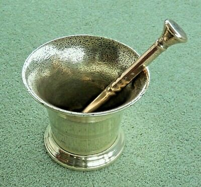 Vintage/Antique Brass Bell Mortar and Pestle (Double Ended)