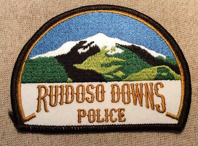NM Ruidoso Downs New Mexico Police Patch