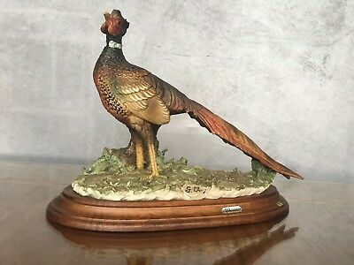 Giuseppe Armani CAPODIMONTE  An amazing Pheasant Sculpture Pick up Eltham