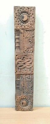 Ancient Wooden Beam Panel Antique Estate Wall panel Architectural Door Decor Old