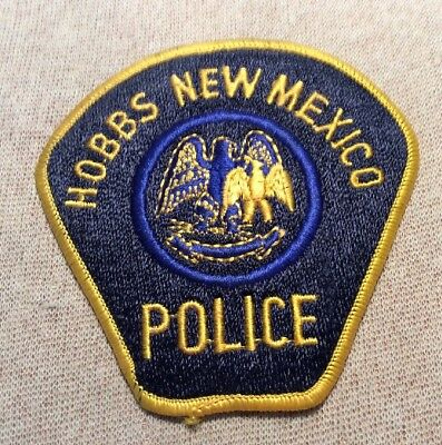 NM Hobbs New Mexico Police Patch