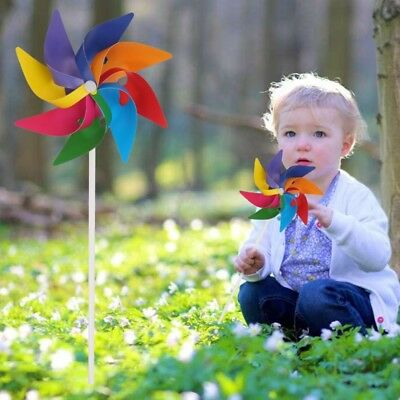 1PC Garden Yard Party Camping Windmill Wind Spinner Ornament Decoration Kids Toy