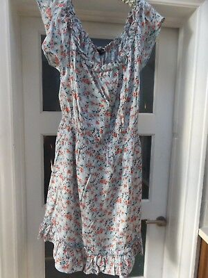 Dorothy Perkins size 22 sun dress also fit 24 cool full flattering on off should