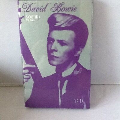 david bowie sound vision 4cd rare box set new. Black Bedroom Furniture Sets. Home Design Ideas
