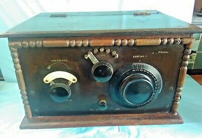 Early High Quality Kit Built Valve Radio