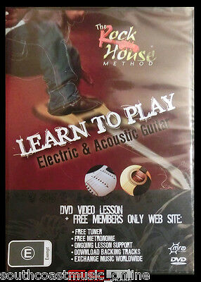 Learn To Play Guitar Acoustic Electric -  Rockhouse Method