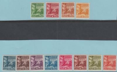 Samoa 142 - 153 Mint Hinged OG * - No Faults Very Fine!!!