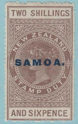 Samoa 121 Mint Hinged OG * - No Faults Very Fine!!!