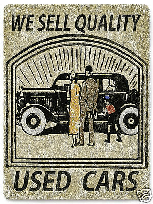 FORD CLASSIC metal SIGN / used car vintage style PLAQUE show room wall decor 367