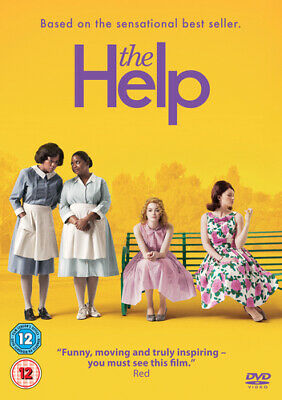 The Help DVD (2012) Emma Stone, Taylor (DIR) cert 12 FREE Shipping, Save £s