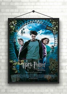 Harry Potter Prisoner Classic Large Movie Poster Art Print A0 A1 A2 A3 A4 Maxi