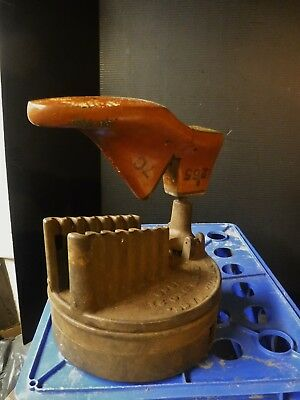 Antique Civil War Bailey Articulated Shoemaker Cobbler PEGGING FIXTURE Machine