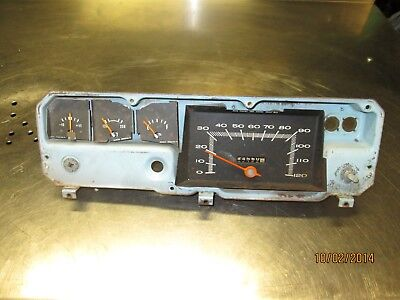 1970-1972 Mopar A-Body Instrument Panel for parts* Dodge Dart~Plymouth Duster