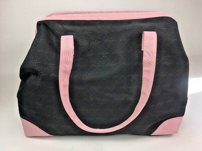 Capezio Duffle Dance Bag Black And Pink Inside Pockets For Shoes