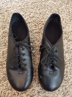 Theatricals black tap shoes.  youth size 4 (2). Split sole. Flexible bottom