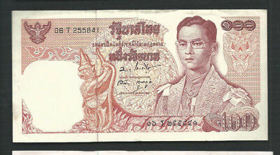 Thailand 1969-78 100 Baht P 85 Circulated