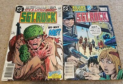 Sgt. Rock #380 and #391