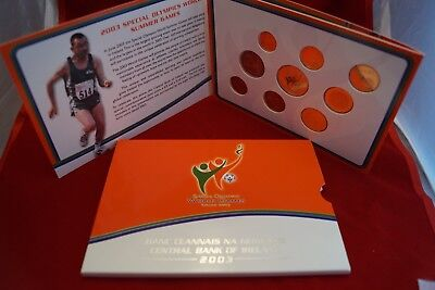 EURO KMS IRLAND 2003 Special Olympics World Games mit 5 Euro Gedenkmünze