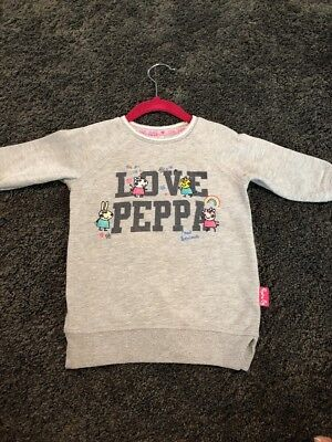 Peppa Pig Baby Girls Jumper Size 12-18 Months