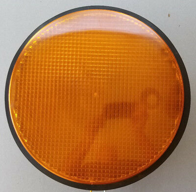 """Ge Yellow 12"""" Led Traffic Signal Light With Gasket"""