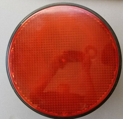 """Ge Red 12"""" Led Traffic Signal Light With Gasket"""