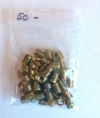 Tappex M8  Ensat- Slotted Thread Inserts -303 000 080 110-New Qty 50 For £10