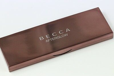 BECCA AFTERGLOW CHEEK PALETTE x3 HIGHLIGHTERS x2 BLUSHES ONLY SWATCHED ONCE !!!