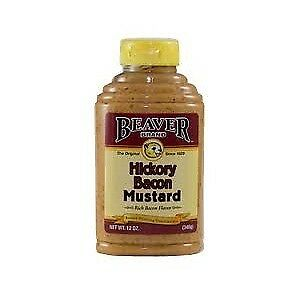 Beaver Hickory Bacon Mustard Sq (6x12OZ )